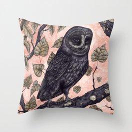 Pink Hunter Throw Pillow
