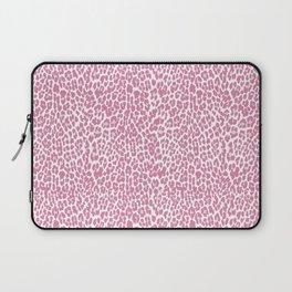 Chic Pink Cheetah Pattern Laptop Sleeve
