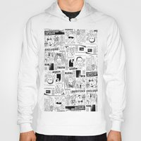 scandal Hoodies featuring Scandal Pattern by CLSNYC