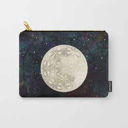 The Flower of Life Moon 2 Carry-All Pouch