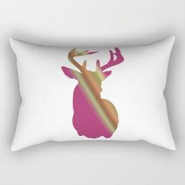 Girly buck Rectangular Pillow
