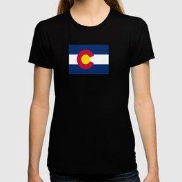 flag colorado,america,usa,south,desert, The Centennial State,Coloradan,Coloradoan,Denver,Springs T-shirt
