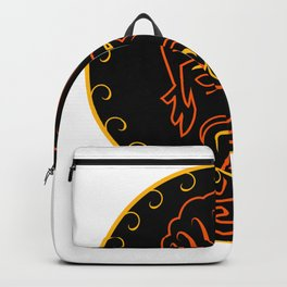 The king of vape #society6 #decor #buyart #artprint Backpack