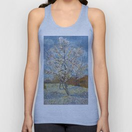 Peach Trees in Blossom by Vincent van Gogh Unisex Tank Top