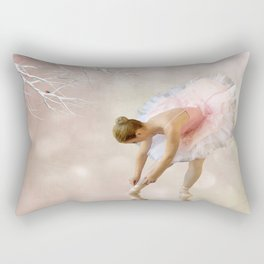 Dancer in Water Rectangular Pillow