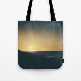Fistral Beach, Newquay, Cornwall Sun set Tote Bag