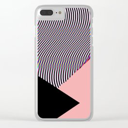 Out Of Focus Clear iPhone Case