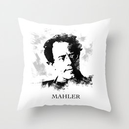 Gustav Mahler Throw Pillow