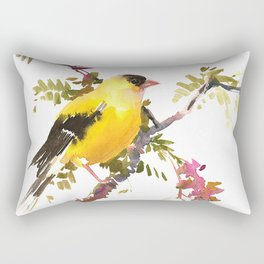 American Goldfinch Rectangular Pillow