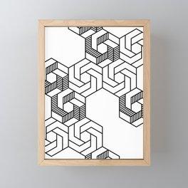 Hex 601 Framed Mini Art Print