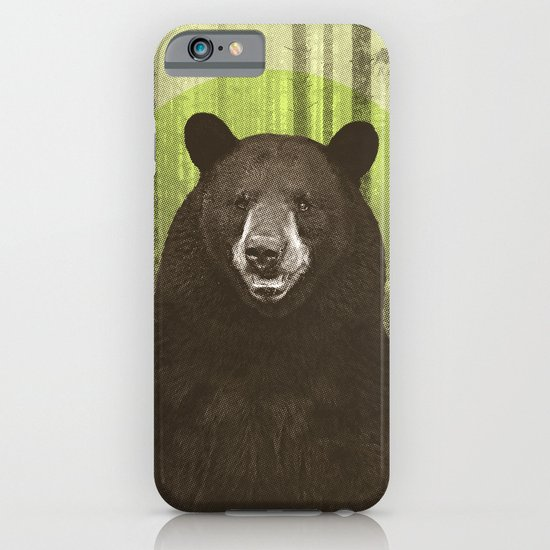 Black Bear iPhone & iPod Case