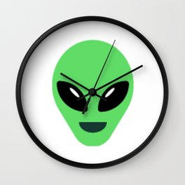 I Hate People Alien design Extraterrestrial Life UFO Lover Wall Clock