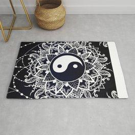 Yin & Yang Decorative Mandala Rug
