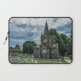 Billings Mausoleum Stonington Cemetery Connecticut Graveyard Laptop Sleeve