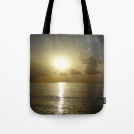seaside sunrise Tote Bag