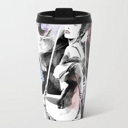 Shibari - Japanese BDSM Art Painting #12 Travel Mug