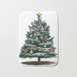 Christmas Tree by Chrissy Bath Mat