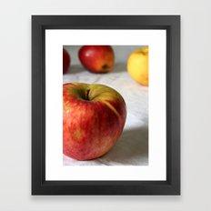 La Pomme Framed Art Print