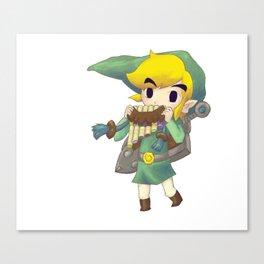 Plain Link Fan Art Canvas Print