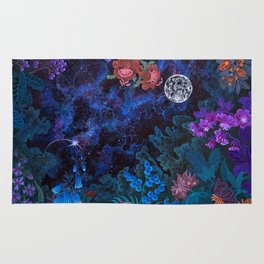 Space Garden Cosmos Rug