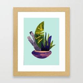 Ikebana 2 Framed Art Print