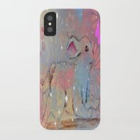 bunny iPhone & iPod Cases featuring Bunny by Judy Skowron