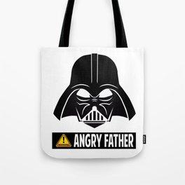 Angry Father Tote Bag