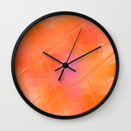 Re-Created Twisted SQ XXVII by Robert S. Lee Wall Clock