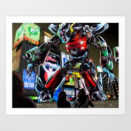 Automaton JDM Art Print