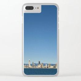 Ocean Paradise Clear iPhone Case