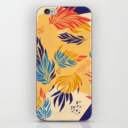 Primary Colors Leaves iPhone Skin