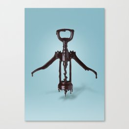 Corkscrew and Chocolate Canvas Print