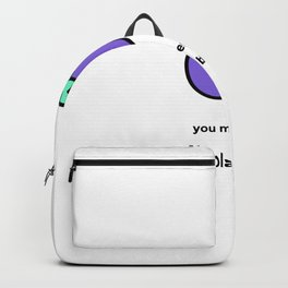 JUST A PUNNY EGGPLANT JOKE! Backpack