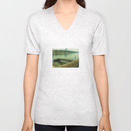 Pier, Basel, Switzerland  Unisex V-Neck