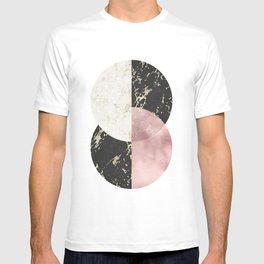 Marble Circle Prints T-shirt