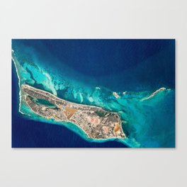 GRAND TURK ISLAND Canvas Print