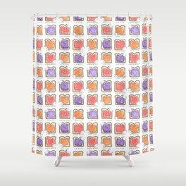 Toasty Shower Curtain