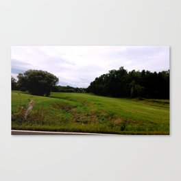 Mill Valley Road Canvas Print