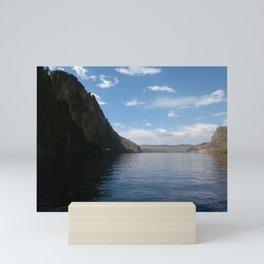 Plane, Lake, Beach, Downtown, Harbor... Mini Art Print