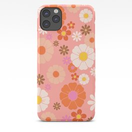 Groovy 60's Mod Flower Power iPhone Case