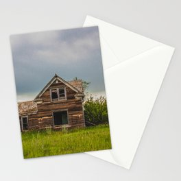 Roadside Homestead, North Dakota 4 Stationery Cards