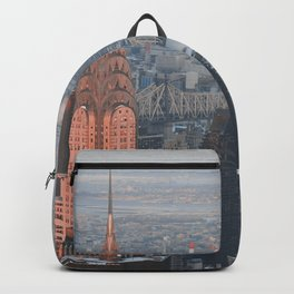 New York from above Backpack