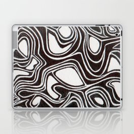 01. Chaos in the System Laptop & iPad Skin