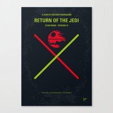 No156 My SW Episode VI minimal movie poster Canvas Print