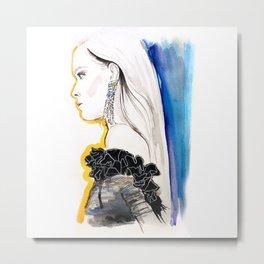 Fashion illustration 1 Metal Print
