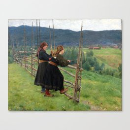 Erik Werenskiold September Canvas Print