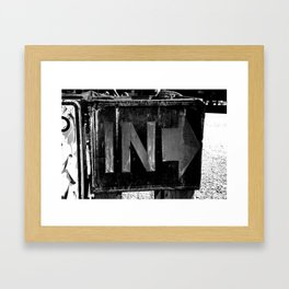 In Framed Art Print