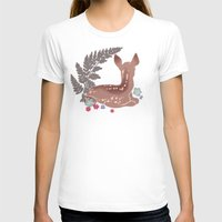 fawn T-shirts featuring fawn by k ei t