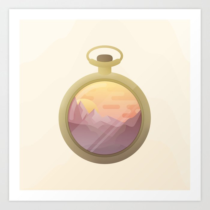 From Dusk to Dust Art Print