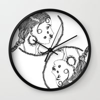 givenchy Wall Clocks featuring Givenchy FW15 by I disegni di Mae